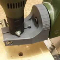 Free STL Detail of the Proxxon Drilling Machine, shuranikishin