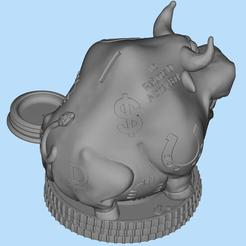 2020-12-01_23-44-39.jpg Download free STL file Piggy bank bull 2021 • 3D printable design, shuranikishin