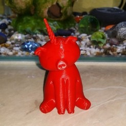Télécharger plan imprimante 3D gatuit licorne porcine, shuranikishin