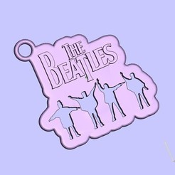 Download free STL file the beatles keychain, shuranikishin