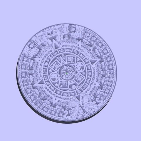 6ec659a3c48913549f828070e0c2166f_display_large.jpg Télécharger fichier STL gratuit calendrier aztèque • Objet imprimable en 3D, shuranikishin