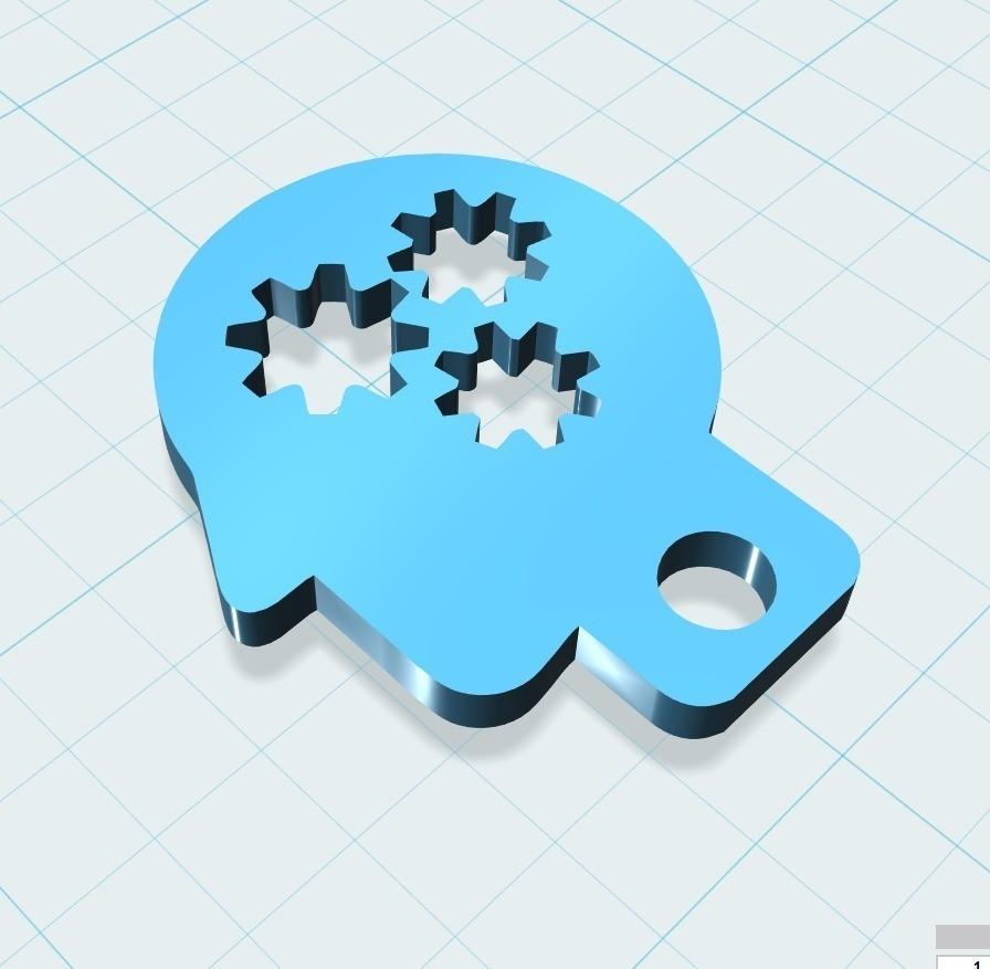 7bbecd58c7196f58c292e070ec05f791_display_large.jpg Download free STL file Mozg keychain • Design to 3D print, shuranikishin