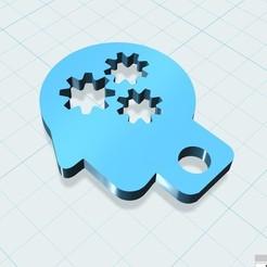 Descargar modelos 3D gratis Llavero Mozg, shuranikishin