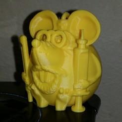 Descargar archivo 3D gratis Ratón Dr. Aibolit, shuranikishin