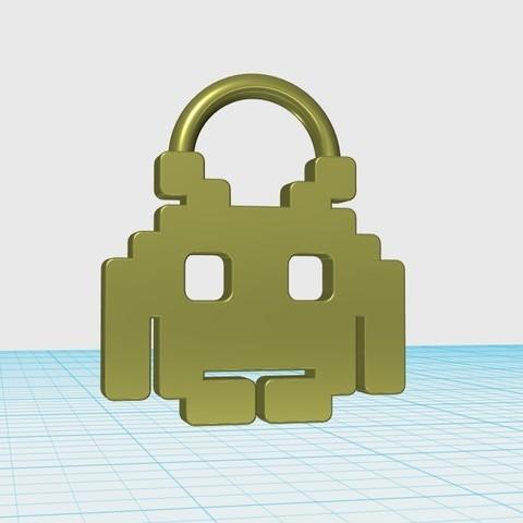 Télécharger modèle 3D gratuit Porte-clés logo du jeu, shuranikishin