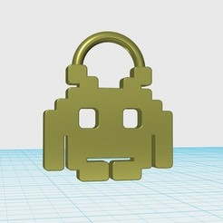 Free 3D printer designs Game logo keychain, shuranikishin