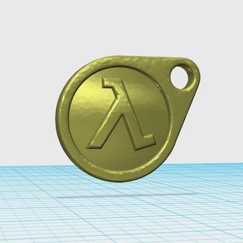 Télécharger fichier 3D gratuit Porte-clés HalfLife 2, shuranikishin
