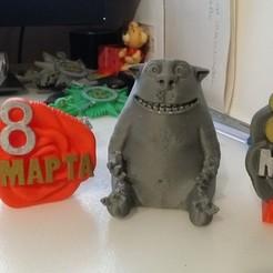 Download free 3D printer templates на 8 марта, shuranikishin