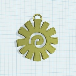Download free 3D printer files aztec medal, shuranikishin