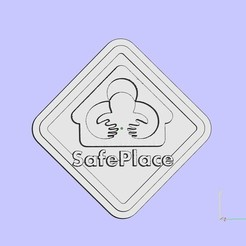 Free 3D printer files SafePlace, shuranikishin