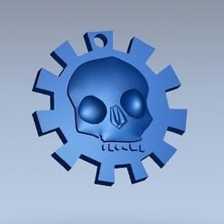 Fichier 3D gratuit porte-clés crâne, shuranikishin