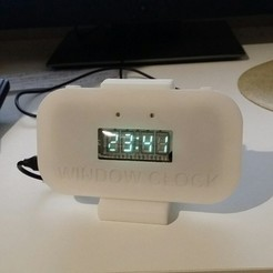 Télécharger fichier 3D gratuit Horloge de fenêtre, shuranikishin