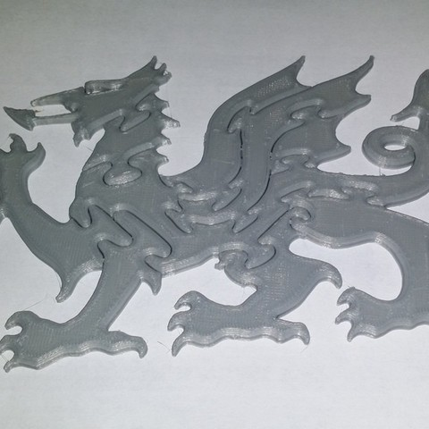 Download free 3D printer templates Puzzle Dragon, shuranikishin