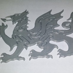 Download free 3D printer templates Puzzle Dragon, shuranikishin