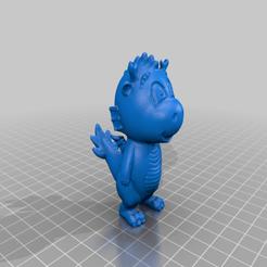 d3.png Download free STL file little dragon • 3D printer model, shuranikishin