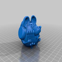 Download free 3D printing templates telephone operator, shuranikishin