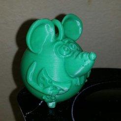 Download free 3D printer designs mouse, shuranikishin