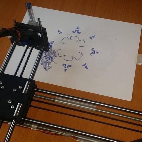 Descargar modelo 3D gratis Máquina de dibujo (AxiDraw), shuranikishin