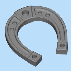 87245ec8877b56db26ce6564204ec0df_display_large.jpg Télécharger fichier STL gratuit Fer à cheval (подкова С С НОВЫМ НОВЫМ ГОДОМ) • Plan pour impression 3D, shuranikishin