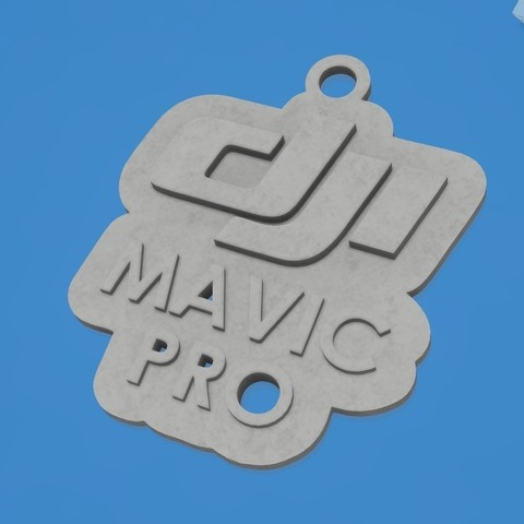 Free 3D printer designs dji mavic, shuranikishin