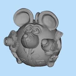2019-12-24_20-03-34.jpg Download free STL file Mouse photographer • 3D printing template, shuranikishin