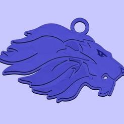 Fichier impression 3D gratuit porte-clés lion, shuranikishin