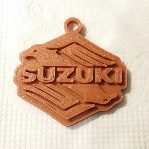 Télécharger fichier STL gratuit porte-clés suzuki, shuranikishin