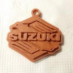 Imprimir en 3D gratis llavero suzuki, shuranikishin