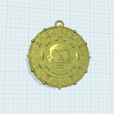 Download free STL Gold coin keychain, shuranikishin