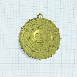 Descargar Modelos 3D para imprimir gratis Llavero moneda de oro, shuranikishin