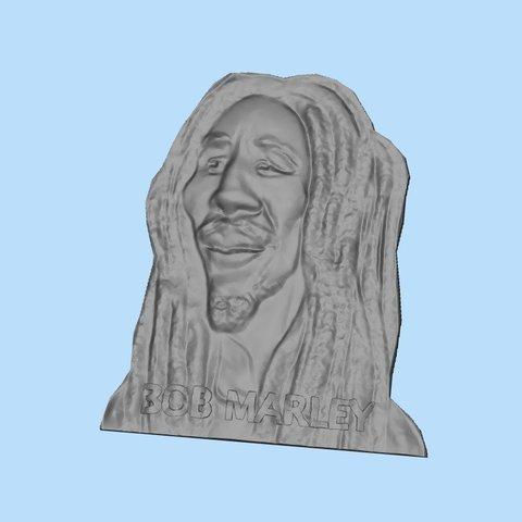 STL gratis Bob Marley, shuranikishin