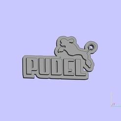 Free 3D print files Pudel keychain, shuranikishin