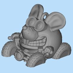 Descargar modelo 3D gratis ratón ATV, shuranikishin