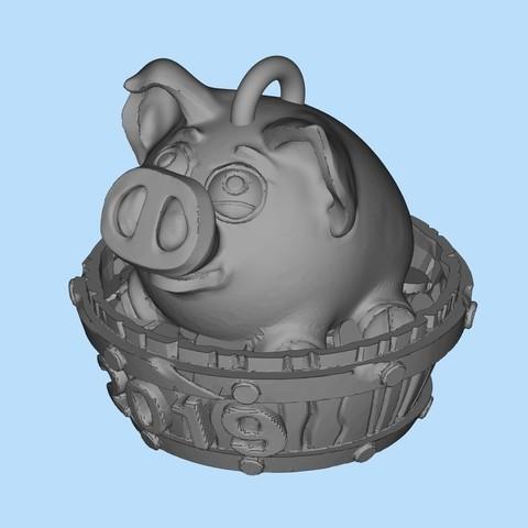 a3bb83bafb6bc05a3cb51b309796a39c_display_large.jpg Télécharger fichier STL gratuit Porc 2019 • Modèle pour impression 3D, shuranikishin