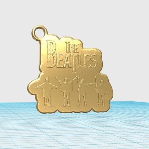 0c566eefe139579f7c77bbe876de69d7_display_large.jpg Télécharger fichier STL gratuit le porte-clés des Beatles • Modèle imprimable en 3D, shuranikishin