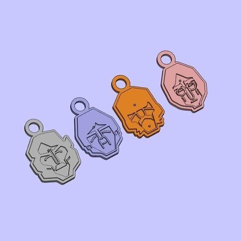 27c2574aa27b1087499b83aa639a9ba5_display_large.jpg Télécharger fichier STL gratuit le porte-clés des Beatles • Modèle imprimable en 3D, shuranikishin