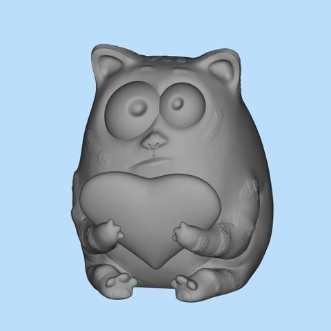 Download free STL cat 14f, shuranikishin