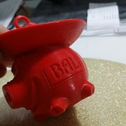 Télécharger plan imprimante 3D gatuit Porc Bali, shuranikishin