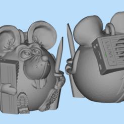 Descargar modelo 3D gratis Instalador de aire acondicionado para ratones, shuranikishin