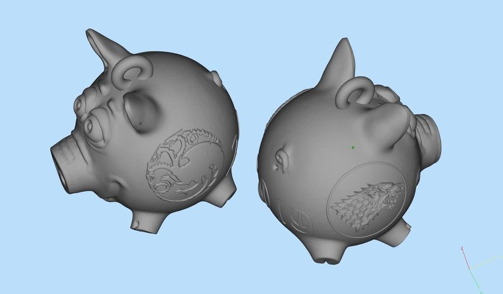 8946cf262abe5208f56e38117230c637_display_large.jpg Télécharger fichier STL gratuit Cochon GoT • Design pour impression 3D, shuranikishin