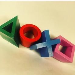 IMG_6333.jpg Descargar archivo STL gratis Arte del logo de Playstation • Modelo para imprimir en 3D, Adam_Of_3den