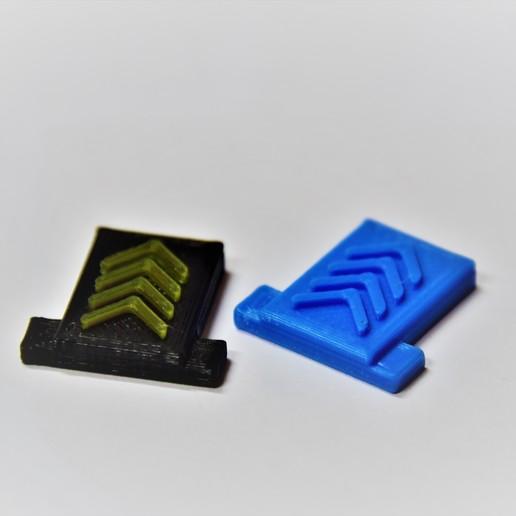 DSC_3178.JPG Download free STL file Camera Hot Shoe Cover • 3D print template, chienline