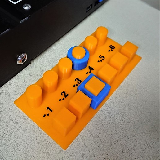 Download free 3D printing templates Wash Out Test Bed, chienline
