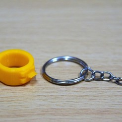 Download free 3D printer files Simple Keychain Tool, chienline