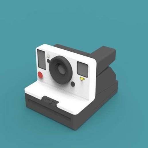 Télécharger fichier 3D gratuit Polaroid One Step2, LuDoLblc