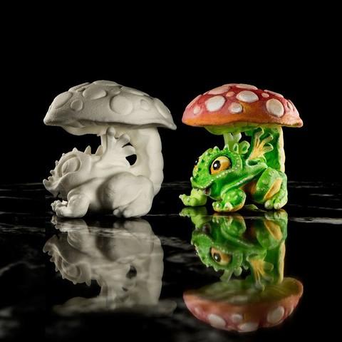 Imprimir en 3D gratis ToadyStool, bennettklein