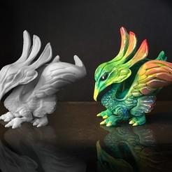 Impresiones 3D gratis BABY PHOENIX, bennettklein