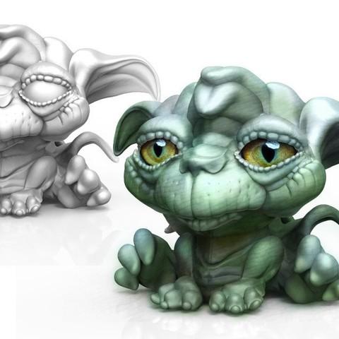 Télécharger fichier impression 3D gratuit Le chat de Yoda, bennettklein