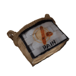 Download 3D model Vintage Bread Basket, Noxpax