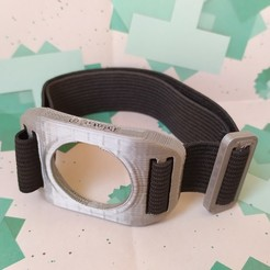 Download 3D printer designs Pack bracelet for Freestyle Free sensor, Noxpax